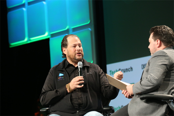 Salesforce marches steadily toward $10B run rate goal
